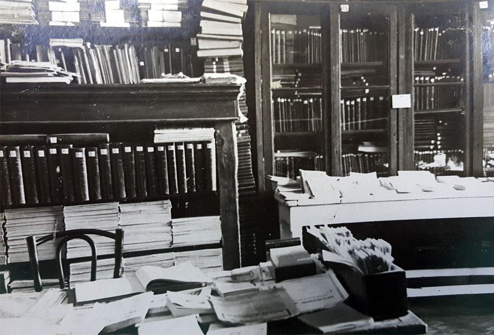 Научная библиотека Института в первые годы его создания