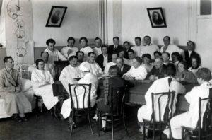 Проведение утренней врачебной конференции директором Института Л.С.Боголеповой